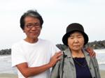 出張美容室「美々ネット埼玉」母と菊地の写真