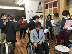 車椅子操作