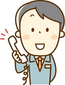 訪問福祉理美容 美々ネット埼玉 電話イラスト