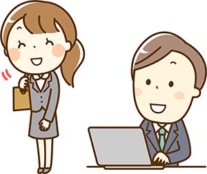 訪問福祉理美容 美々ネット埼玉 訪問イラスト