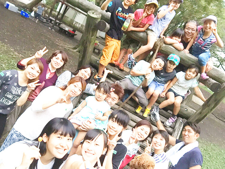 訪問福祉理美容 美々ネット埼玉 社内イベントスタッフ集合写真
